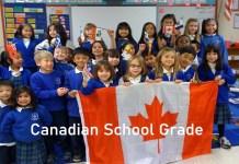 Canadian School Grade - Canadian Elementary, Primary, Junior and Senior Secondary School Grade