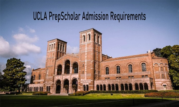 UCLA PrepScholar Admission Requirements: Application for PrepScholar Students in UCLA