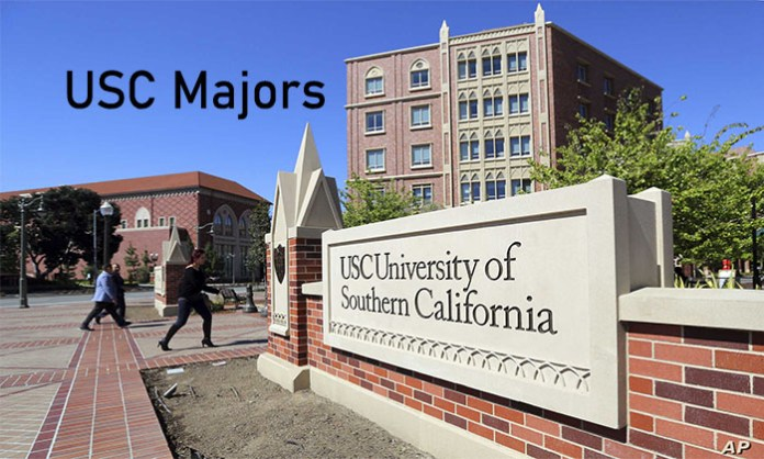USC Majors - USC Majors in Social Science (and Related Majors) and Natural Sciences