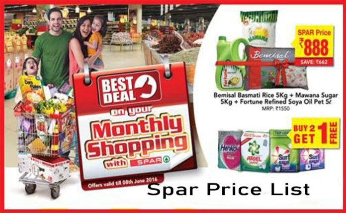 Spar Price List - Spar Known as One of the Largest Retailers Across Southern Africa