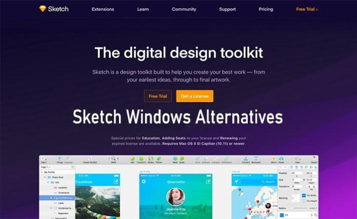 Sketch Windows Alternatives - The Best Sketch Alternatives for Windows & PC