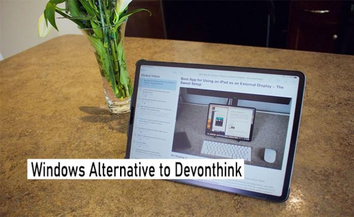Windows Alternative to Devonthink - DEVONthink Alternatives and Similar Software
