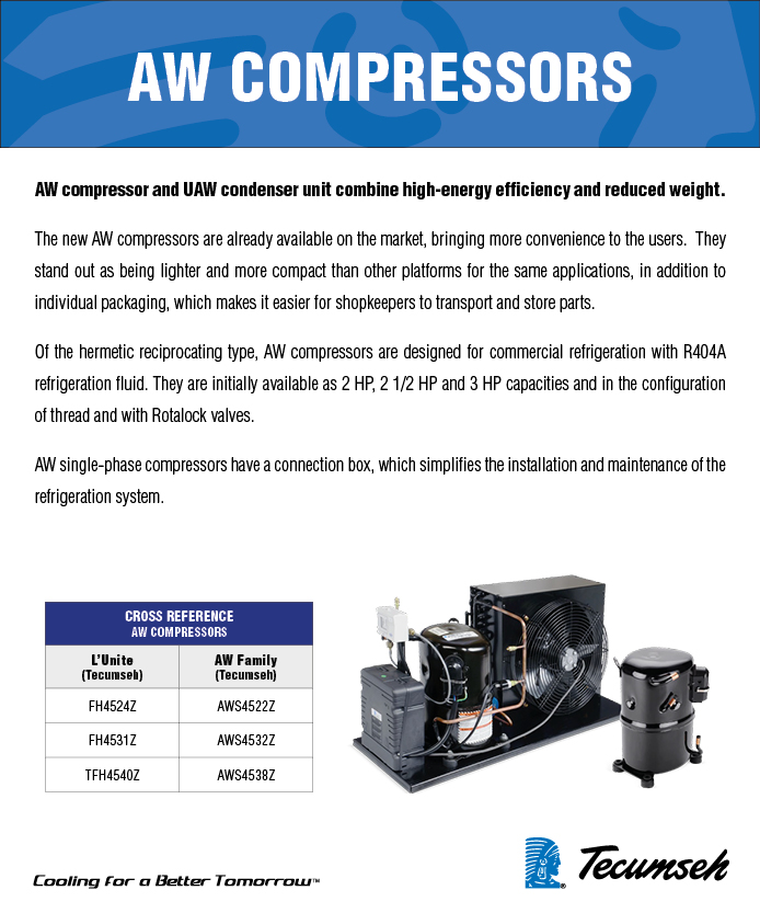 Welcome to TECUMSEH: AW Series Compressor