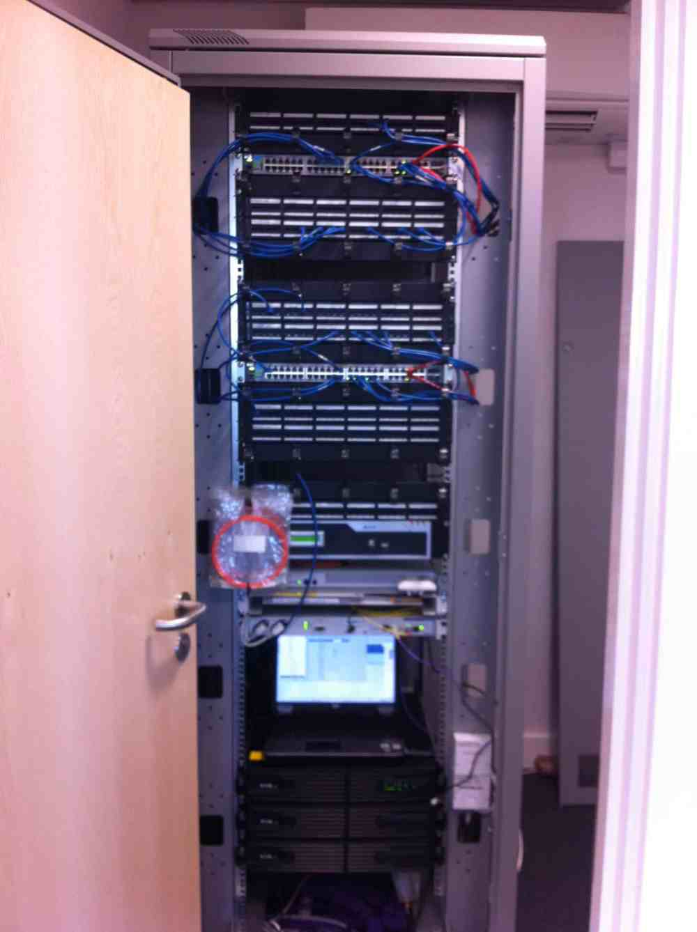 medium resolution of structured cabling comms cabinet example structured cabling comms cabinet example