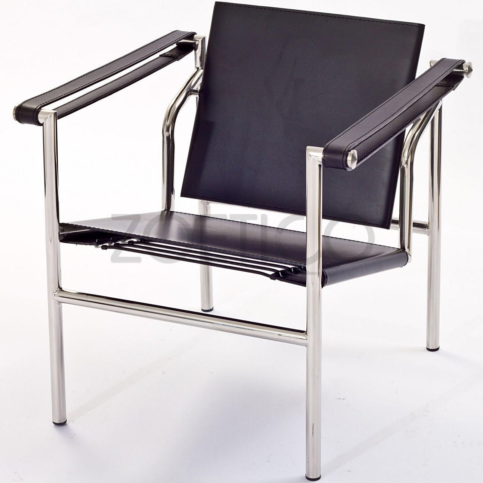 Poltrona Le Corbusier in vera pelle