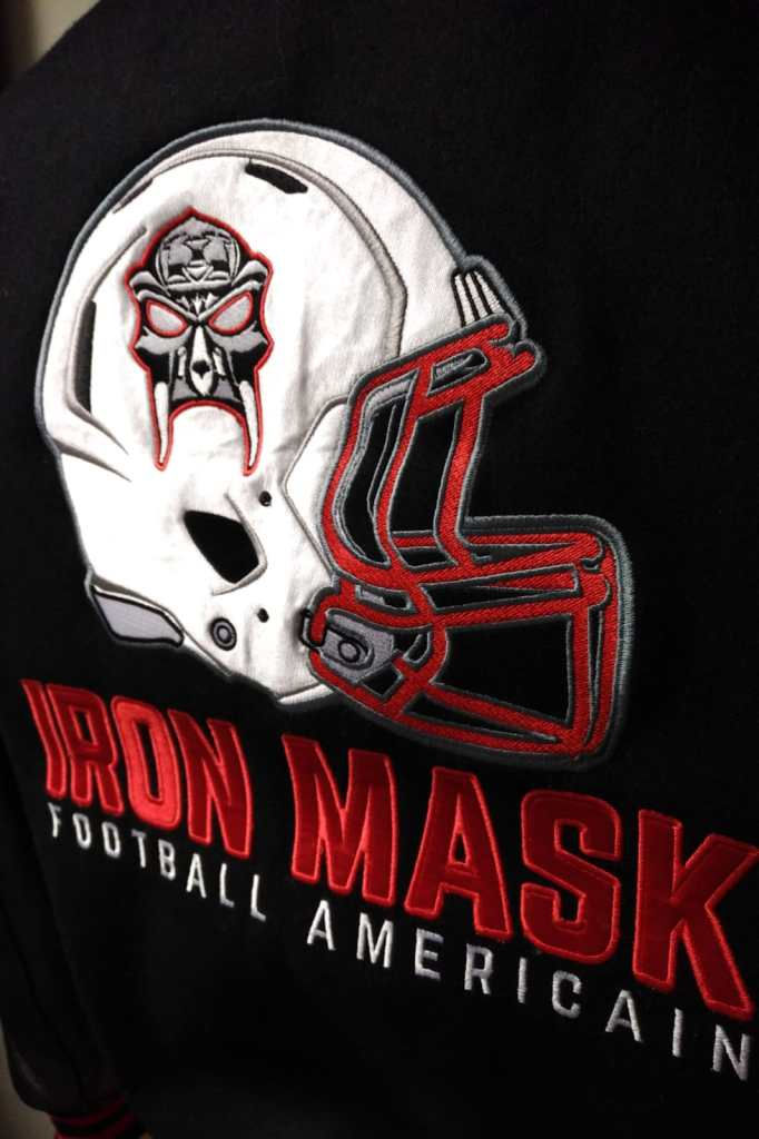 Teddy Original Iron Mask Cannes Football Américain