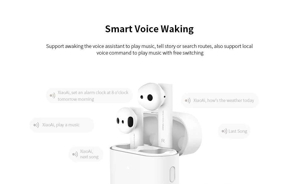 Smart voice waking - xiaomi air 2