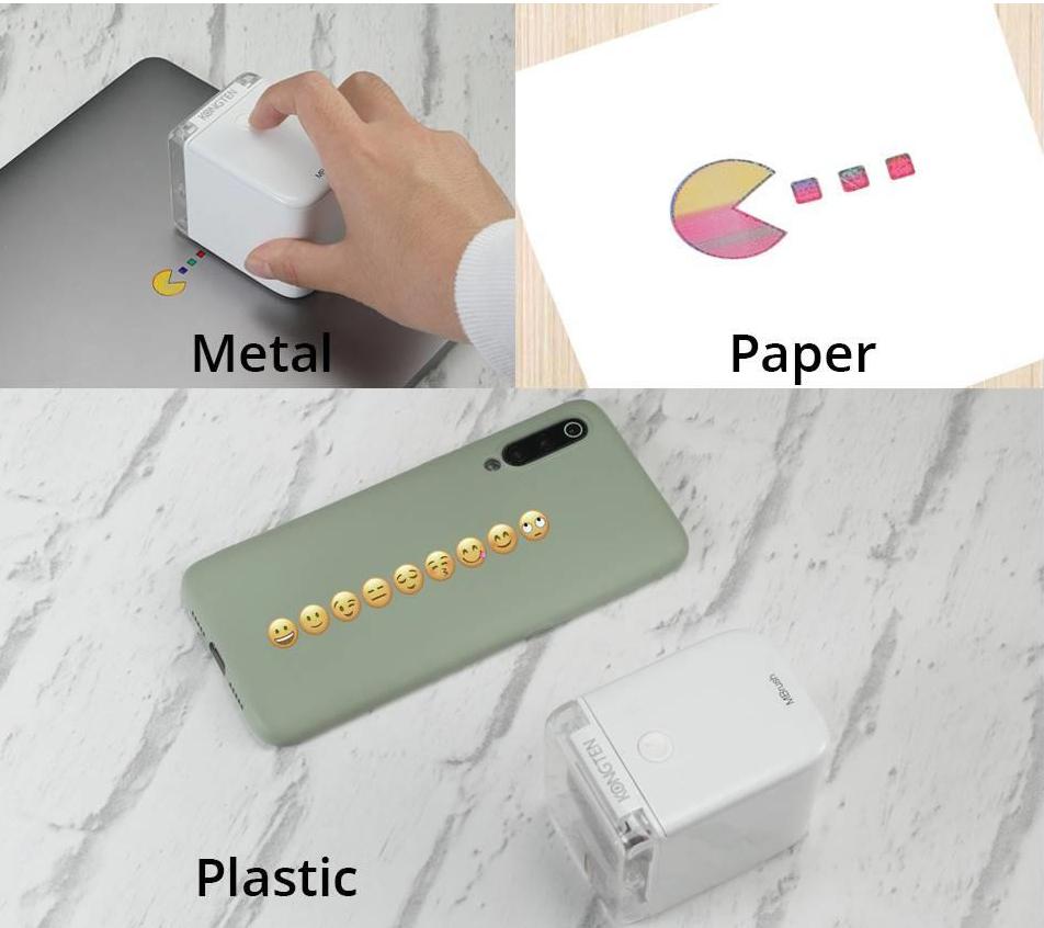 mbrush portable printer geekbuying any surface