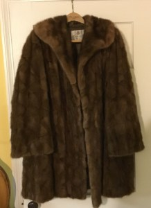 Mink Coat before turning into teddy bears
