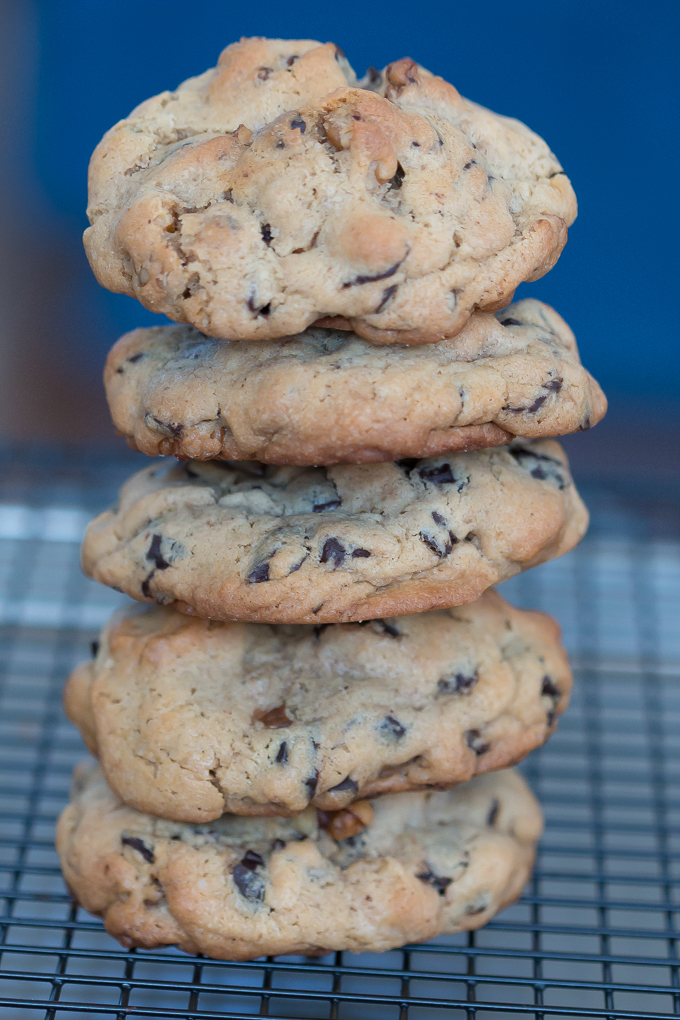 Levain Bakery Chocolte Chip Walnut Cookies, Recipe Results