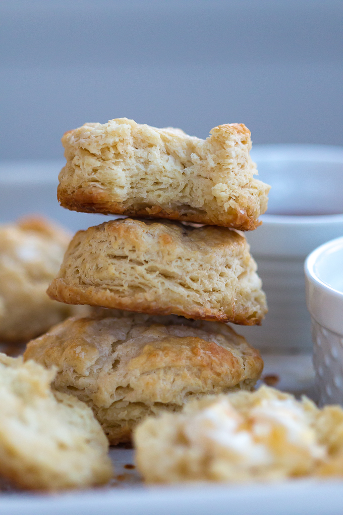 The perfect and easiest light and fluffy homemade buttermilk biscuits