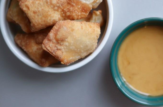 Chrissy Teigen Crab, Cream Cheese, Scallion Wonton