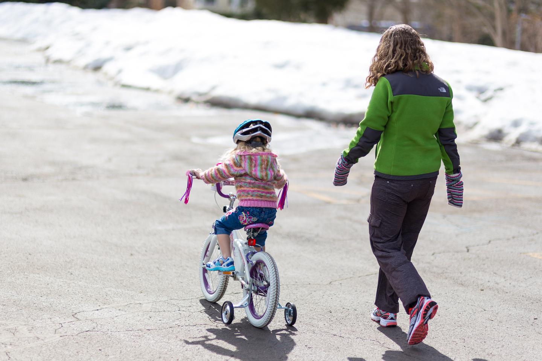 Leah Bike Riding