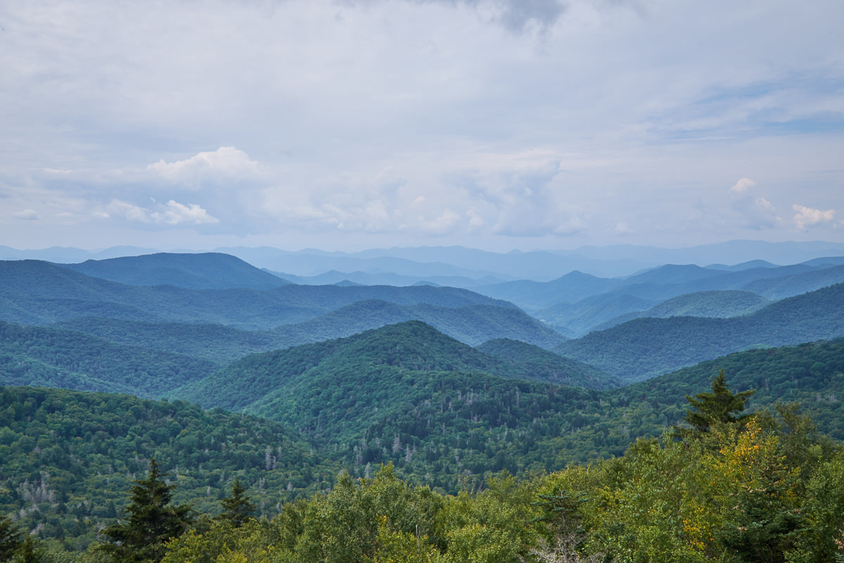 Caney Fork Overlook, Blue Ridge Parkway