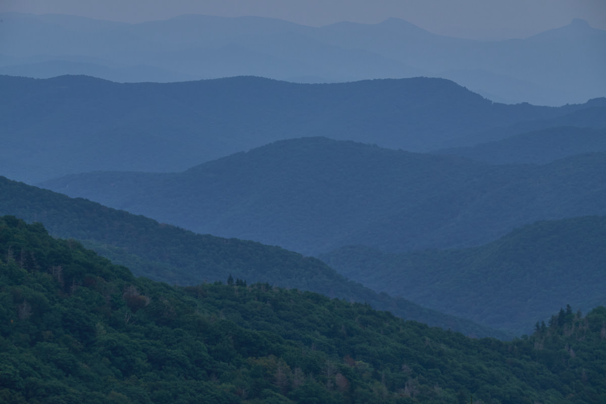Ridge Junction Overlook, Blue Ridge Parkway