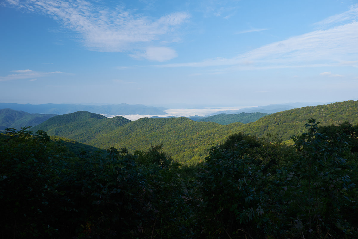 Bunches Bald Overlook, Blue Ridge Parkway