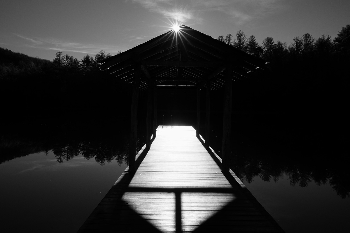 Lake Dense at DuPont State Forest