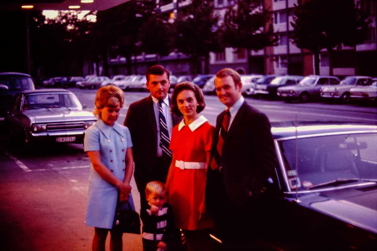 1969: Susie Eastin, Merle Eastin, Jan, Bill, Jamie Eastin