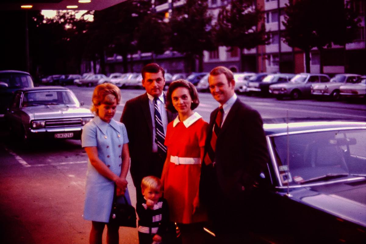 1969: Susie Eastin, Merle Eastin, Jan, Bill, Jamie Eastin