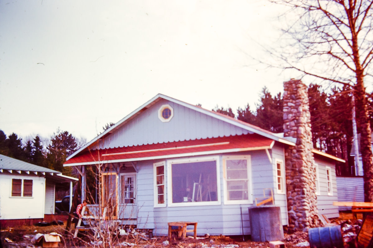 The family cottage in Mackinaw City