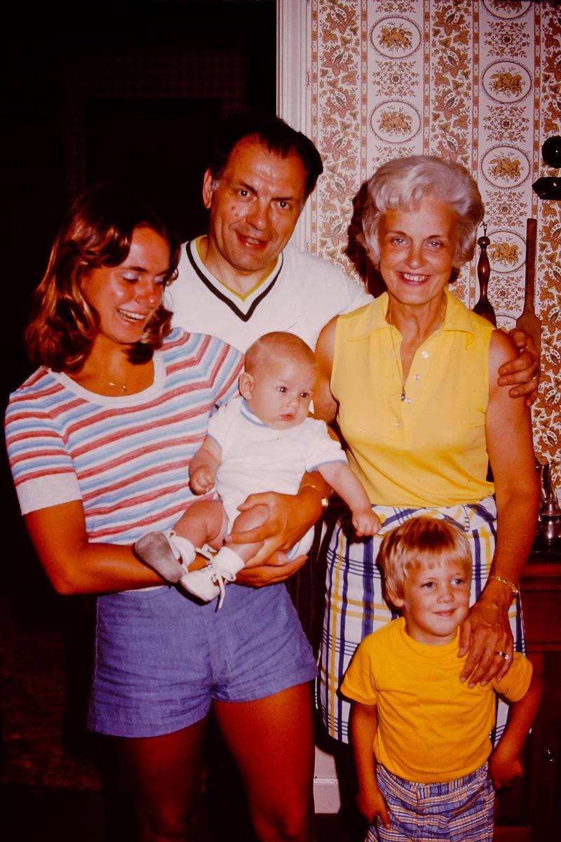 Susie Matilo, George, me, Joan, Doug