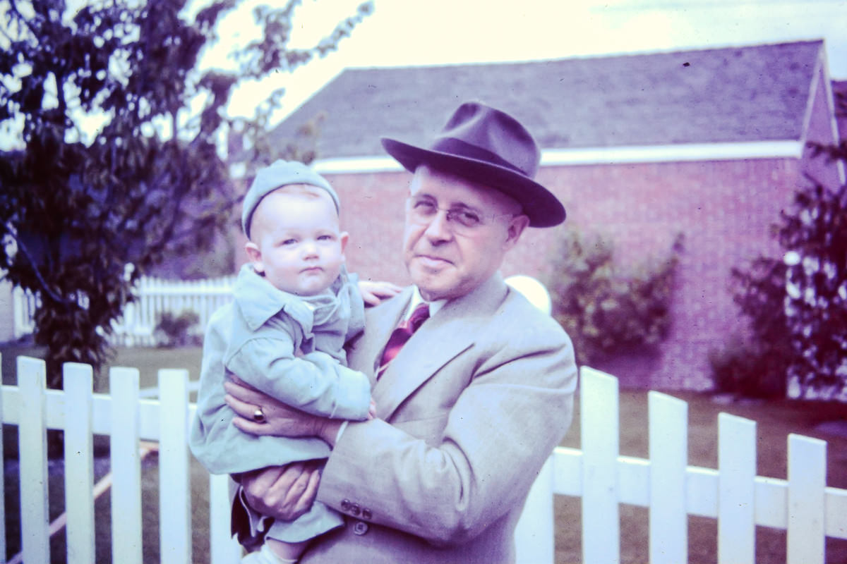 Bill, Grandpa Goudie (David Orlando Goudie)