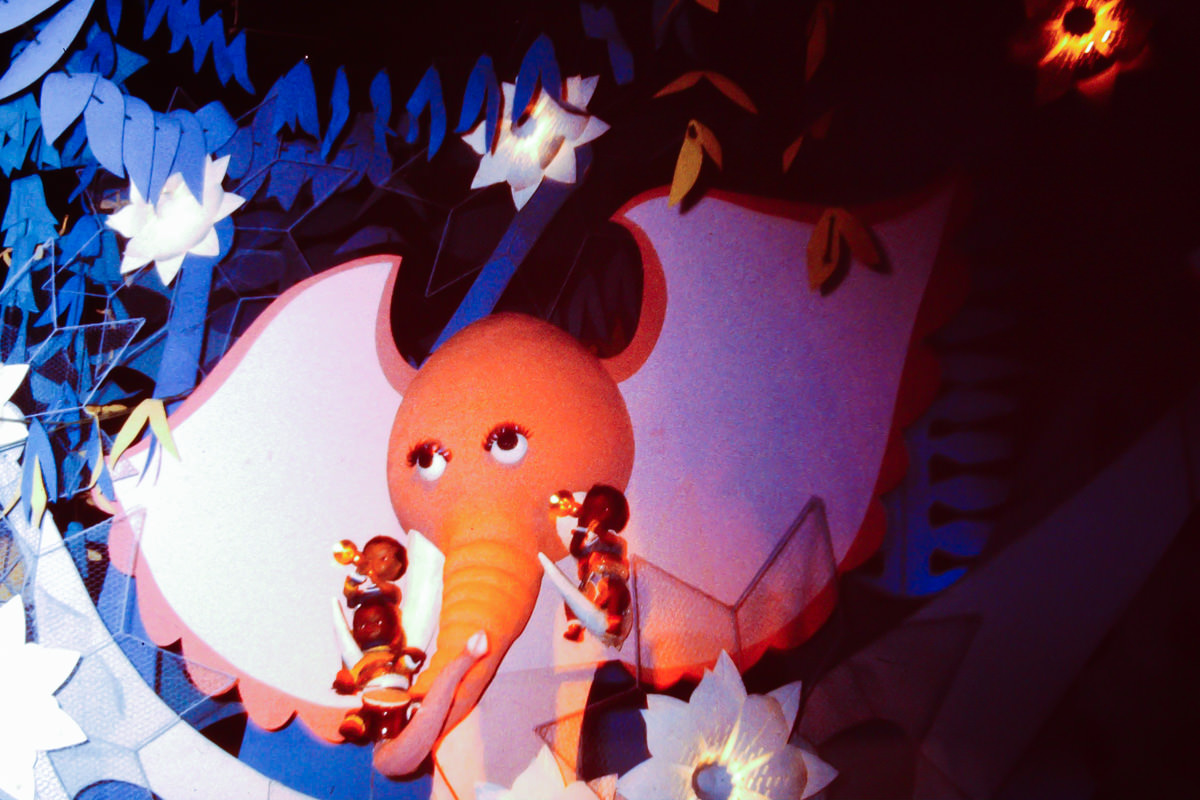 it's a small world at the 1964 World's Fair