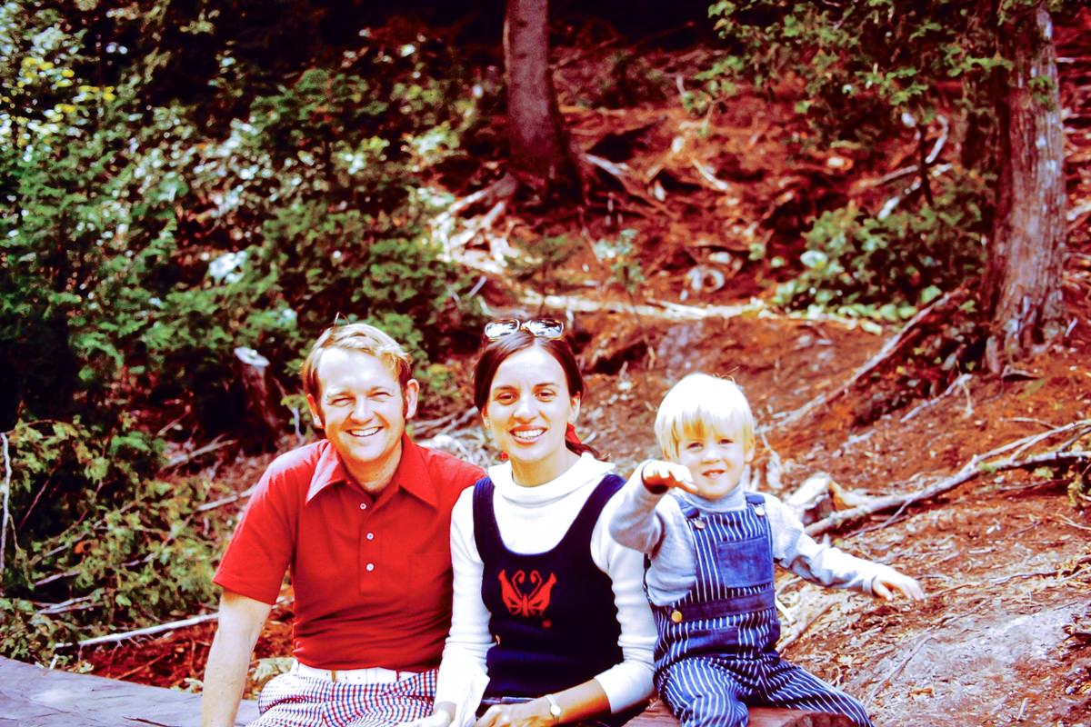 Mackinaw City 1973: Bill, Jan, Doug