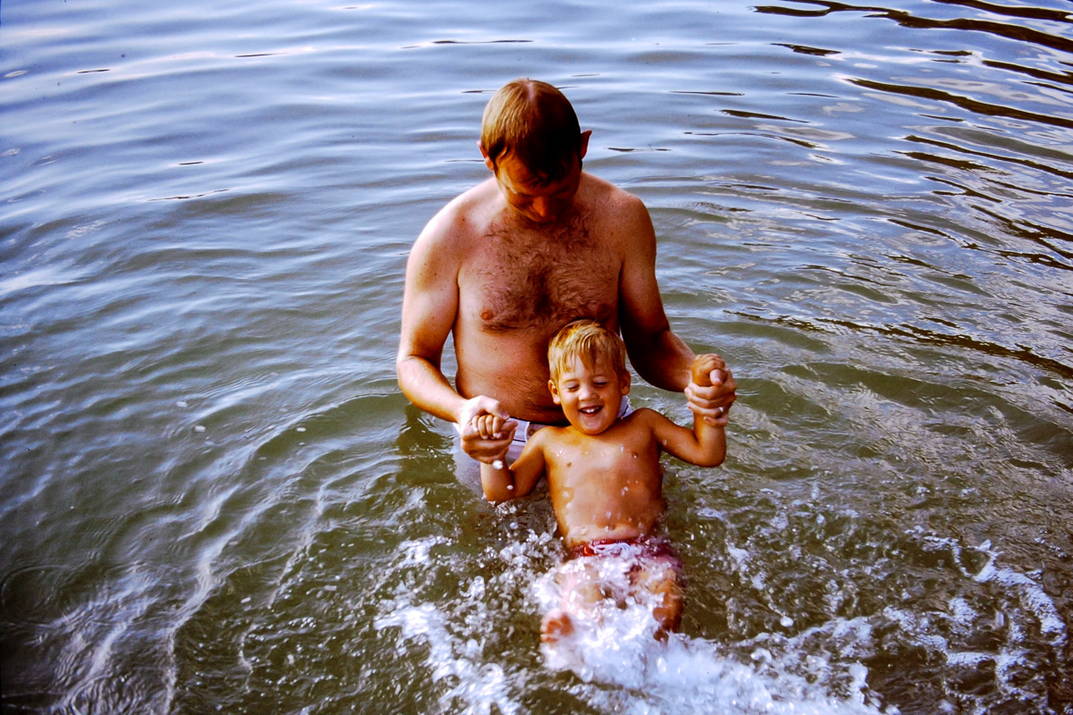 Walloon Lake 1973: Bill, Doug