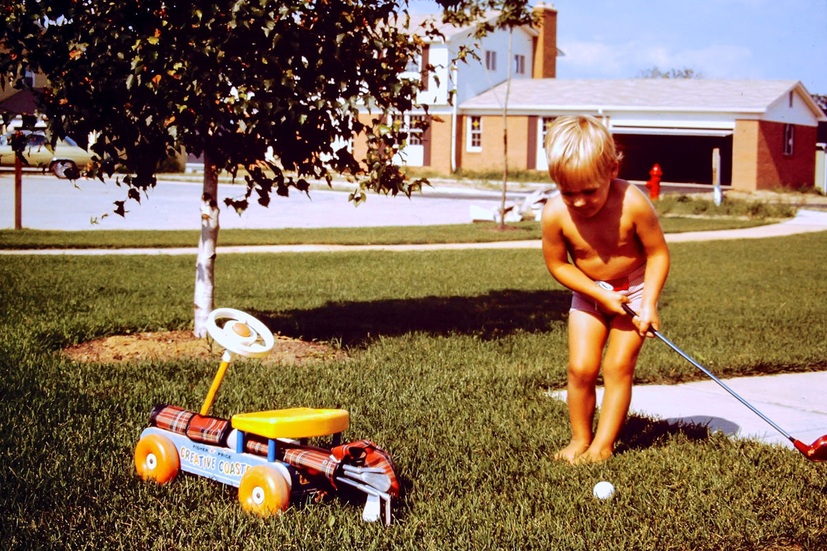 1973: Doug has also always been a golfer?