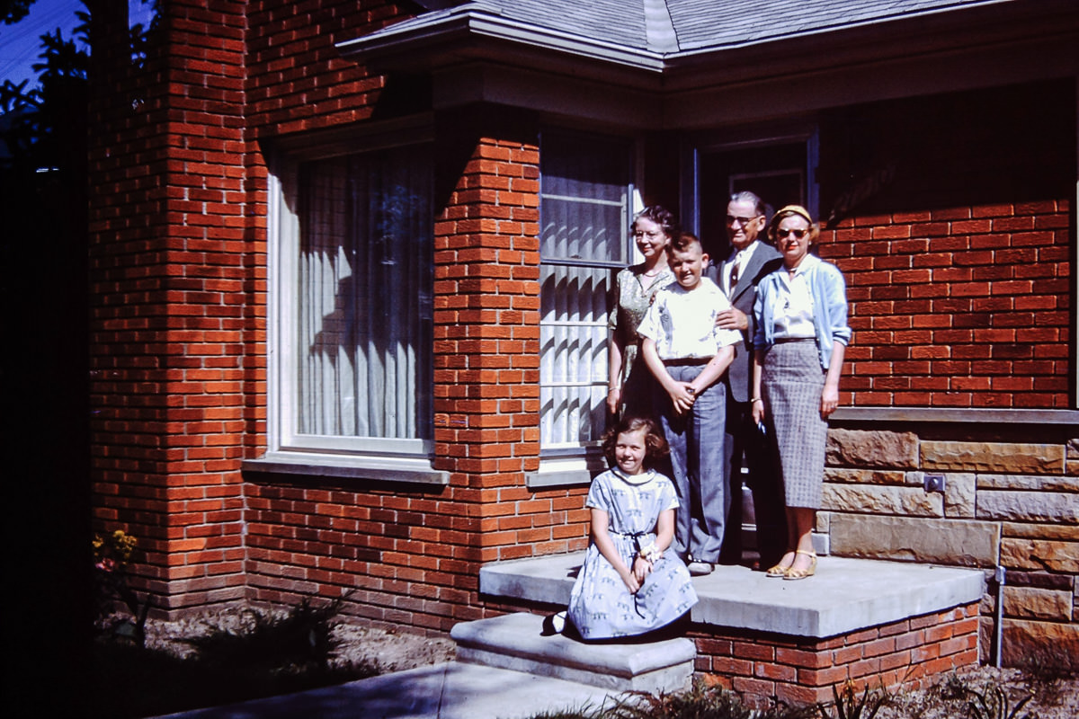 Goudie Family 1950s