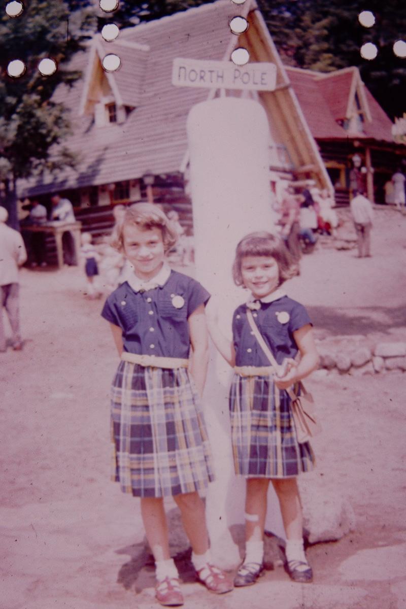July 1950: Jan, Mary Lou