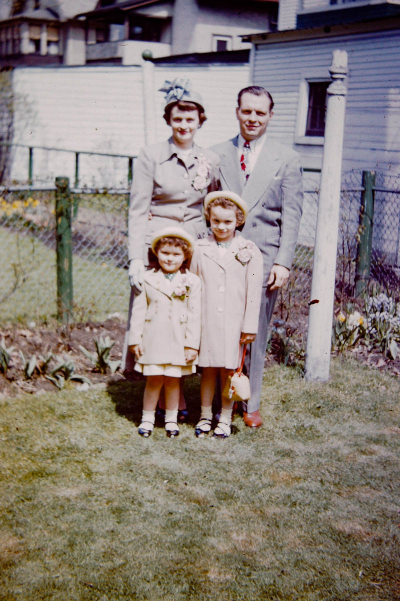Joan, George, Mary Lou, Jan