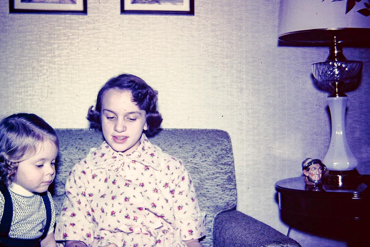 Nov 1954: Susie, Jan