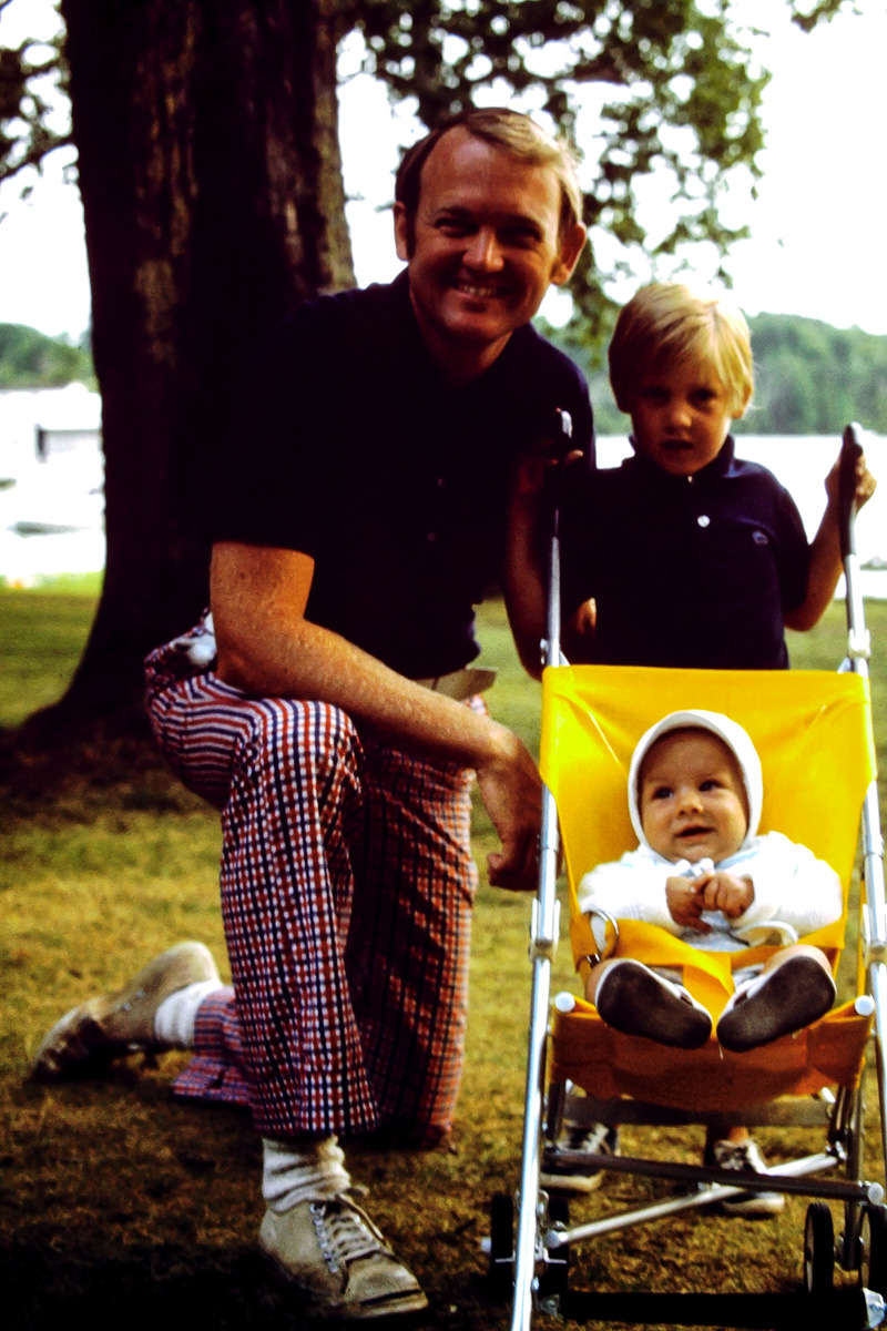 July 1974: Bill, Doug, me
