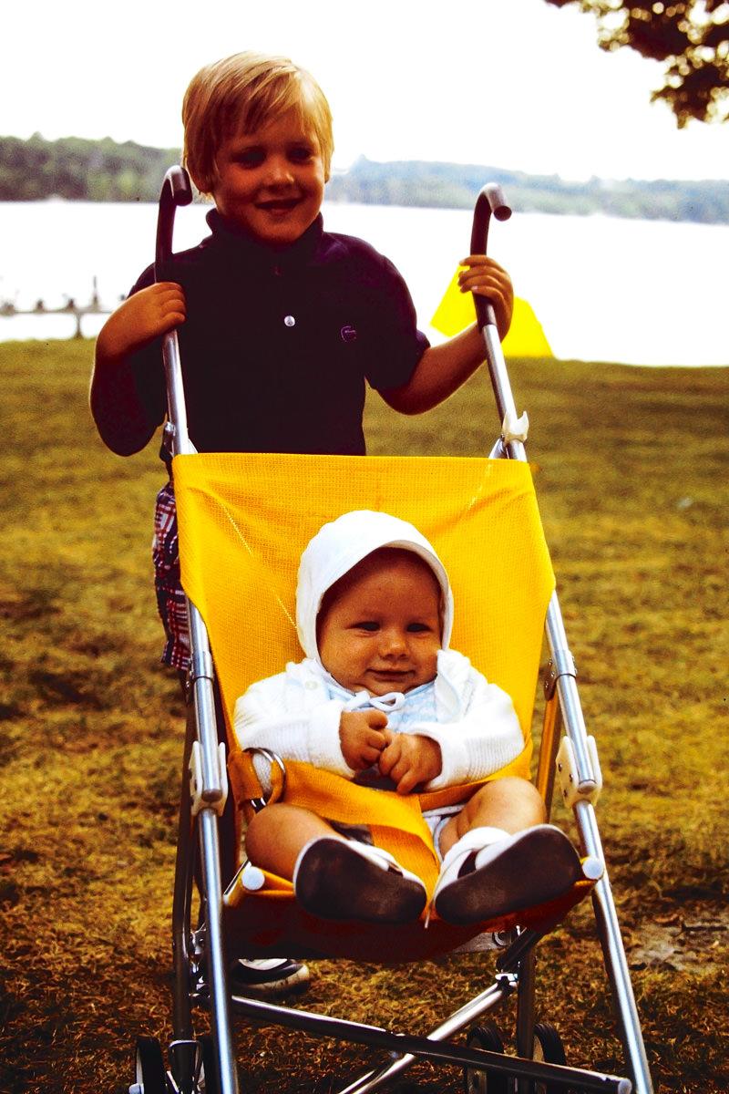 July 1974: Doug, me