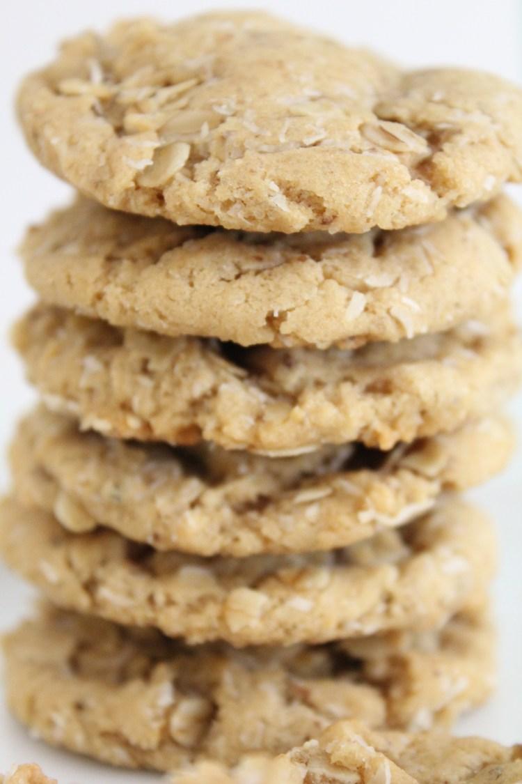 Chewy Coconut Oatmeal Cookies – Tedi Sarah