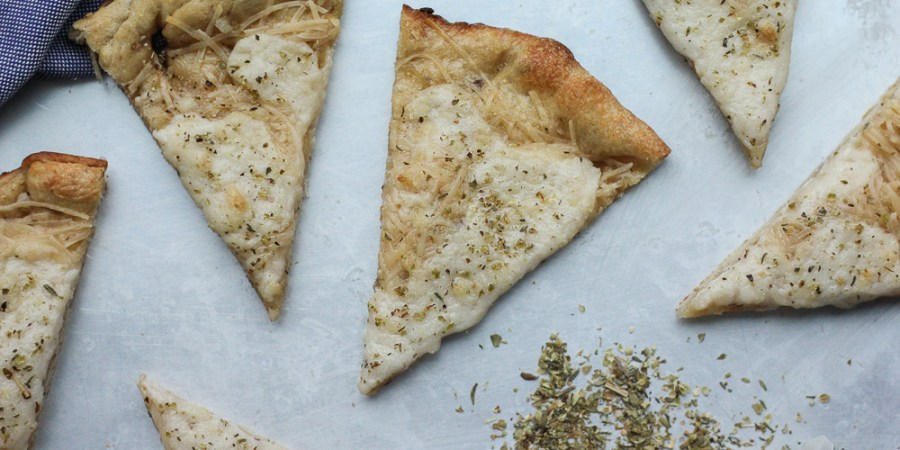 Vegan White Pizza