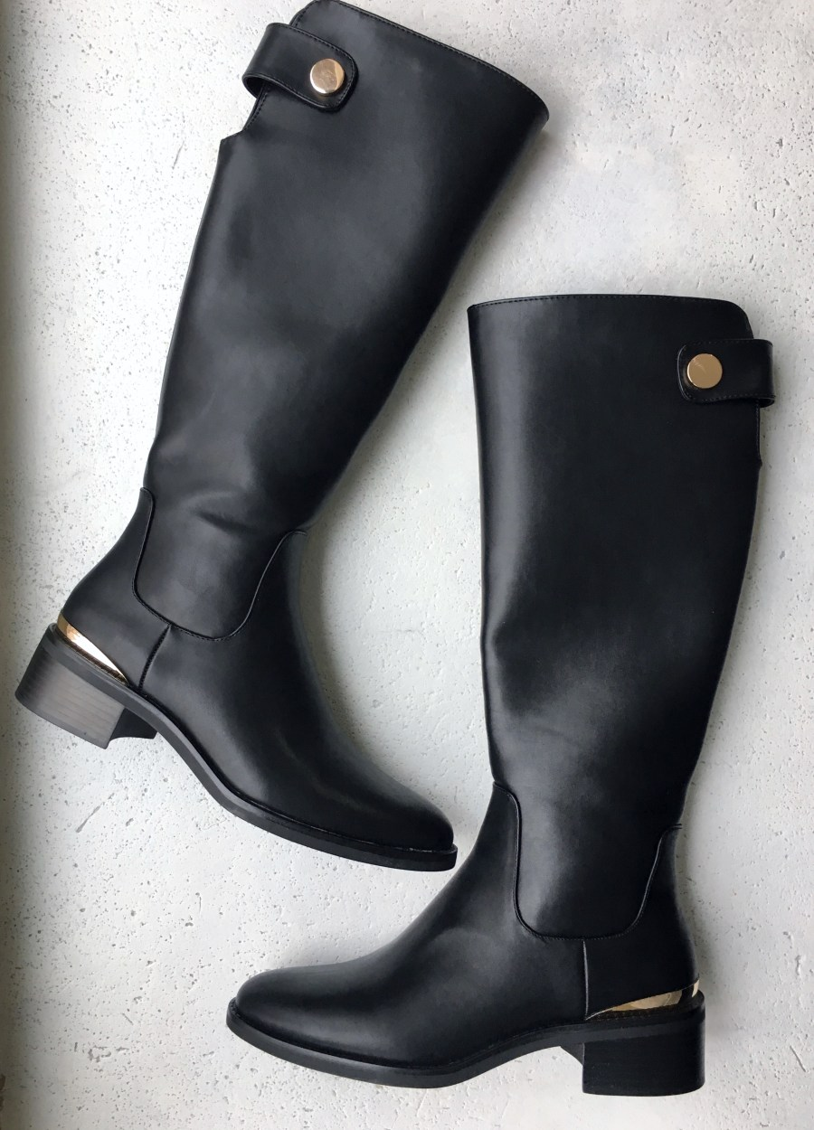 vegan leather boots