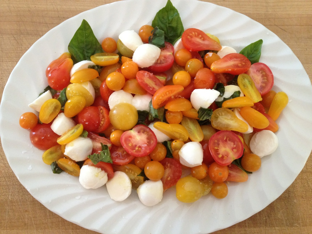Mini Caprese Salad » Ted Kennedy Watson