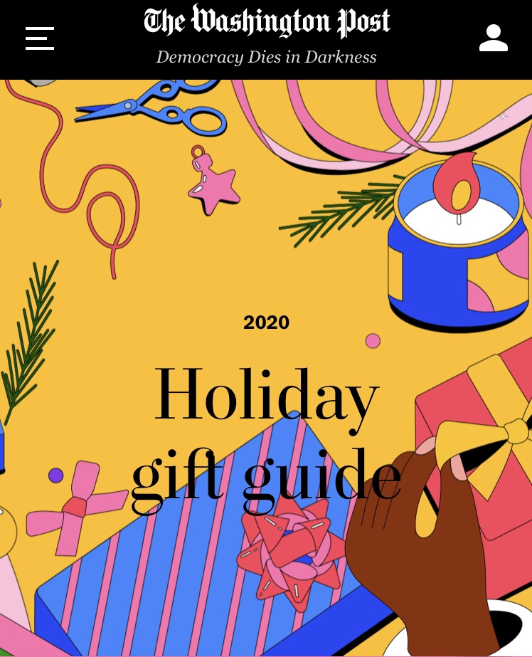 WK in The Washington Post 'Holiday Gift Guide' - Ted Kennedy Watson