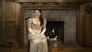 """""""I'm living my own fairy tale!"""" says mezzo-soprano Beste Kalender about her role as the lead in Rossini's """"Cinderella."""" David Bazemore photos"""