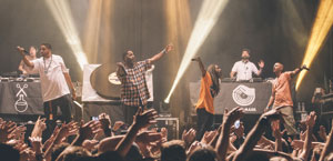 Jurassic 5 performs a headline show in March in Perth, Austrailia