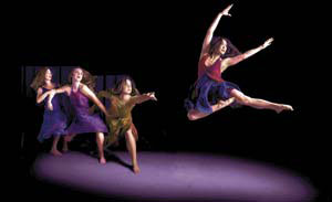 """""""Sand Into Glass"""" is performed by Nebula Dance Lab."""