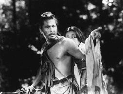 "Toshiro Mifune stars in Akira Kurosawa's seminal samurai film ""Rashomon."" Courtesy photos"