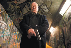 "Michael Caine is out for vengeance against strung-out thieves, murderers and rapists in ""Harry Brown."""