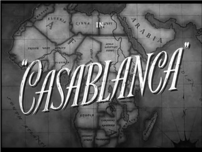 Casablanca title