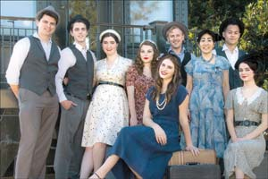 """The """"Swing!"""" cast mixes students from SBCC and UCSB."""