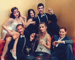 """The production of """"The Wild Party,"""" adapted from a once-banned poem, will be turned into an actual party for the audience. Kim Reierson"""