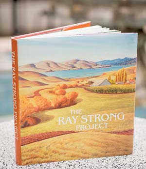 A mock-up of the Ray Strong book.